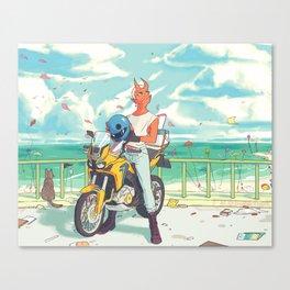 Sky Bike Canvas Print