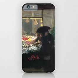 American Masterpiece 'Easter Eve' Washington Square, NY by John French Sloan iPhone Case
