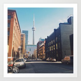 Toronto: Seen from Queen St. Art Print