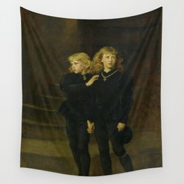 John Everett Millais - The Princes in the Tower Wall Tapestry