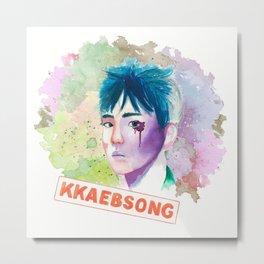 Kkaebsong Metal Print