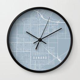 Oxnard Map, USA - Slate Wall Clock
