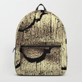 Cracked Paint on Shingles. Backpack