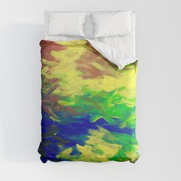 Peacock. Mimosa Inspired Primary Colors. Peacock. Comforters