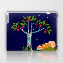 A Pomegranate Tree in Israel at Night, Harvest Laptop & iPad Skin