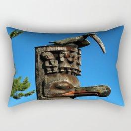 An Amazing Totem Rectangular Pillow