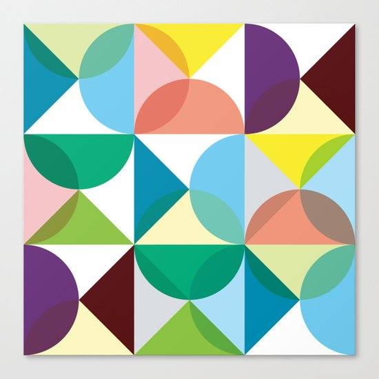 Geometry for Modern Houses (2010) Canvas Print