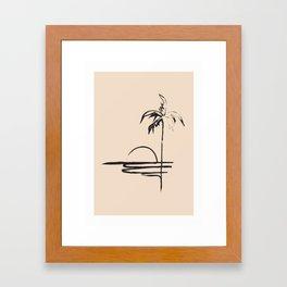 Abstract Landscpe Framed Art Print