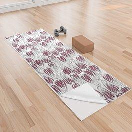 radicchio Yoga Towel