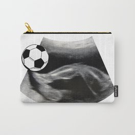 Soccer playing - Ultrasound baby Carry-All Pouch