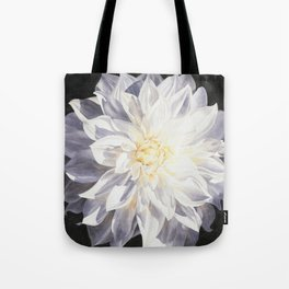 Fragile Solitude - Dahlia Tote Bag