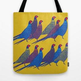 Pheasants Tote Bag