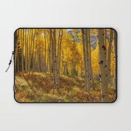 Autumn Aspen Forest Aspen Colorado Laptop Sleeve