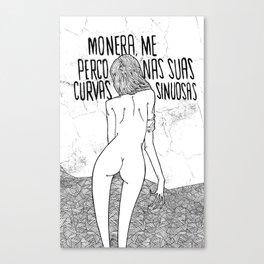 Curvas Sinuosas Canvas Print
