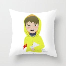 Georgie Denbrough Throw Pillow
