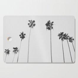 Black & White Palms Cutting Board