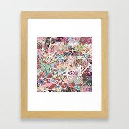 Kodaikanal map Framed Art Print