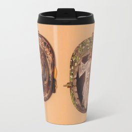 Custom Fire Fighter helmets Travel Mug