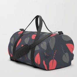 Dotted leaves Duffle Bag