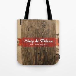 Sirop de poteau Tote Bag
