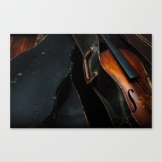 Old Violin Canvas Print