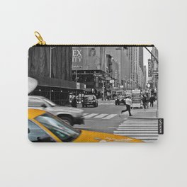 NYC Yellow Cabs Sex and the City - USA Carry-All Pouch