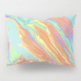 Pastel Oil Slick Pillow Sham