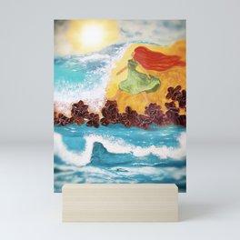 The Garden Of Oceans Mini Art Print