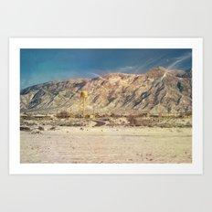 Land of Mañana - New Mexico Art Print