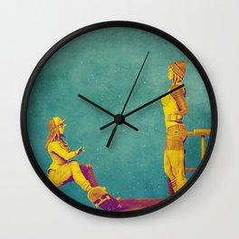 Skateland Wall Clock