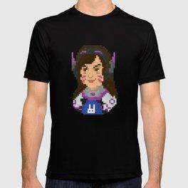 Dva Pixel Portrait T-shirt