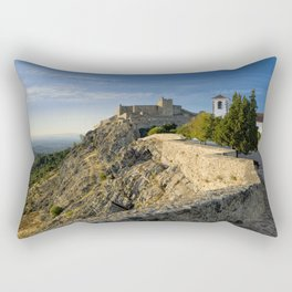 Marvao in the evening Rectangular Pillow
