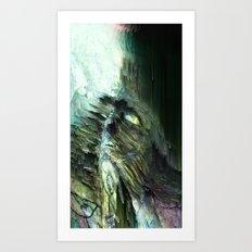 Breaking Through Art Print