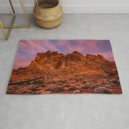 Sunrise Glow - Valley_of_Fire State_Park Rug