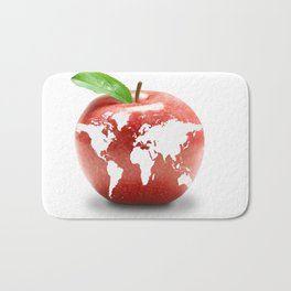 best-logo-yet-big-apple Bath Mat