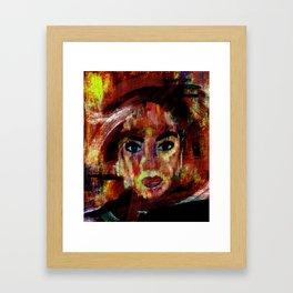 UNTITLED #74 postmodern art Framed Art Print