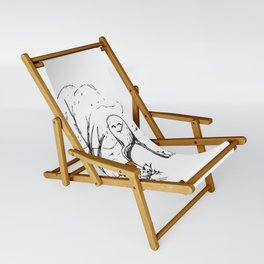 A Windy Day Sling Chair