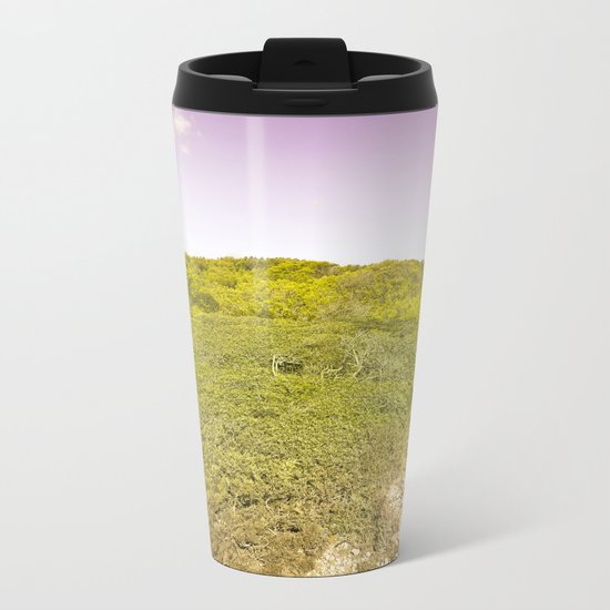 Wild Nature Metal Travel Mug