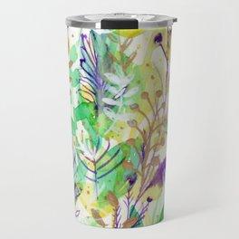 Leaves texture 02 Travel Mug
