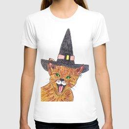The wizard cat T-shirt