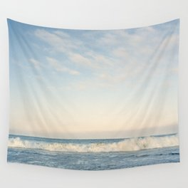 Waves at Pismo Beach Wall Tapestry