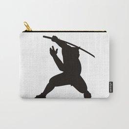 Samurai Warrior Silhouette Carry-All Pouch