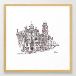 Palace Hotel, Manchester Framed Art Print