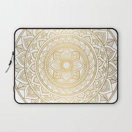 Gold Bali Mandala Laptop Sleeve