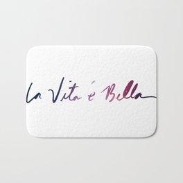 La vita è bella - Life Is Beautiful Bath Mat