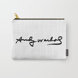 Warhol's Signature Carry-All Pouch