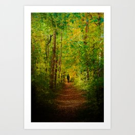 Way Out of the Darkness Art Print