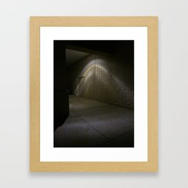 Around The Corner Framed Art Print
