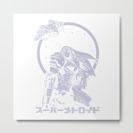 Interstellar Bounty Hunter Metal Print