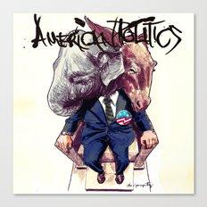 American Politics Canvas Print